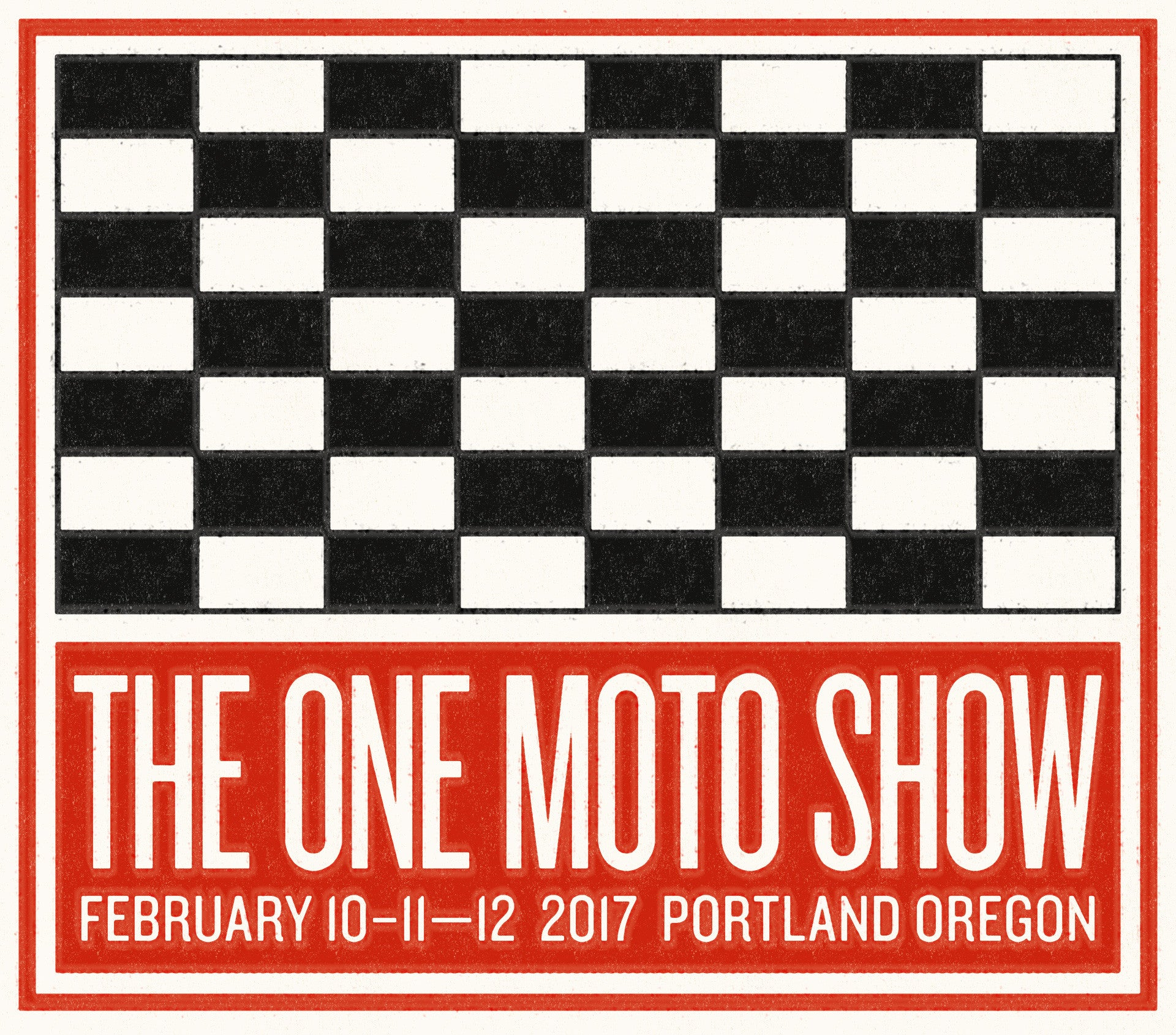 THE ONE MOTORCYCLE SHOW DATES ARE HERE!!