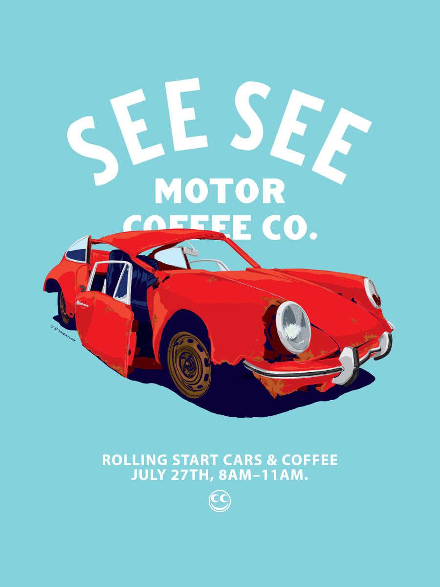 ROLLING START... Coffee and Cars at See See Motor Coffee