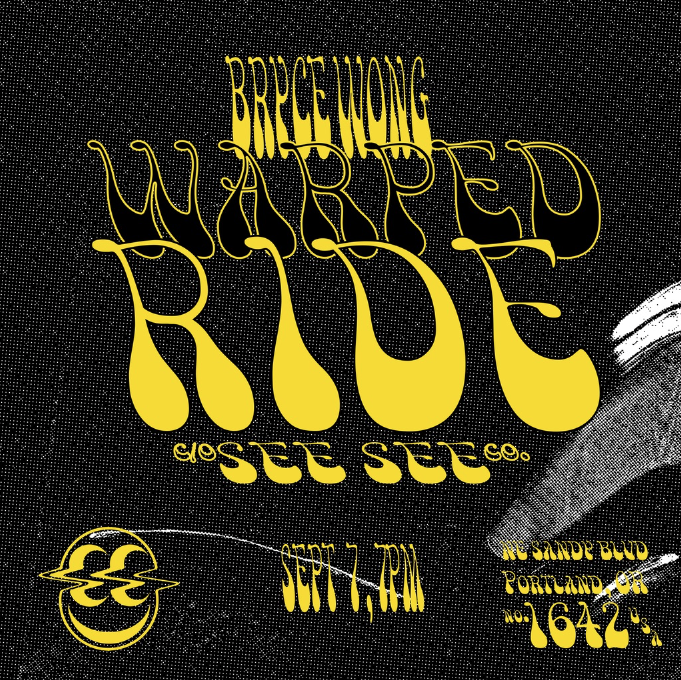 Bryce Wong X See See Motorcycles - Release PARTY