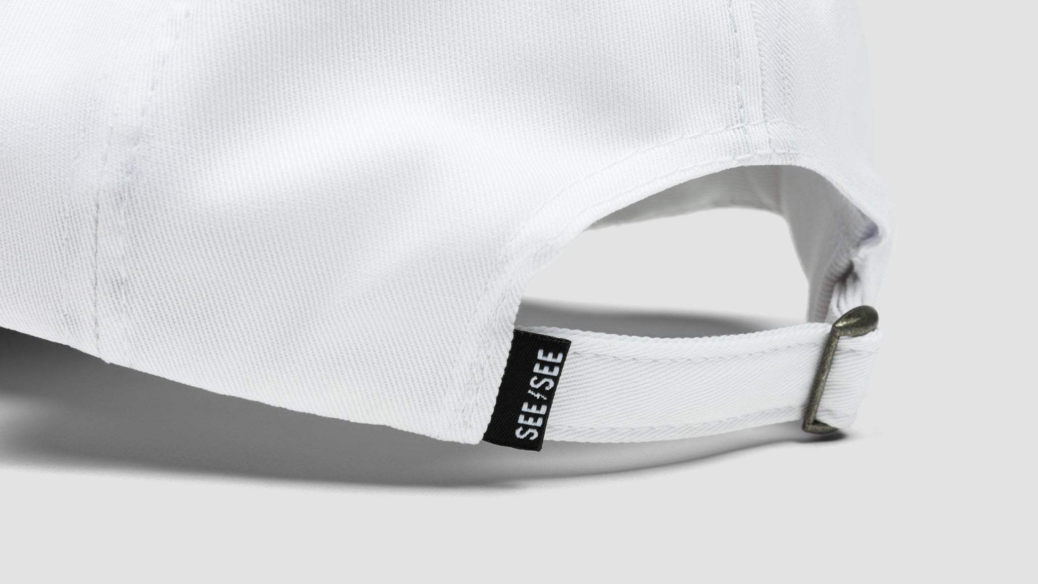 See See Bolt Dad Hat - White