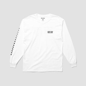 Go Faster Long Sleeve - White