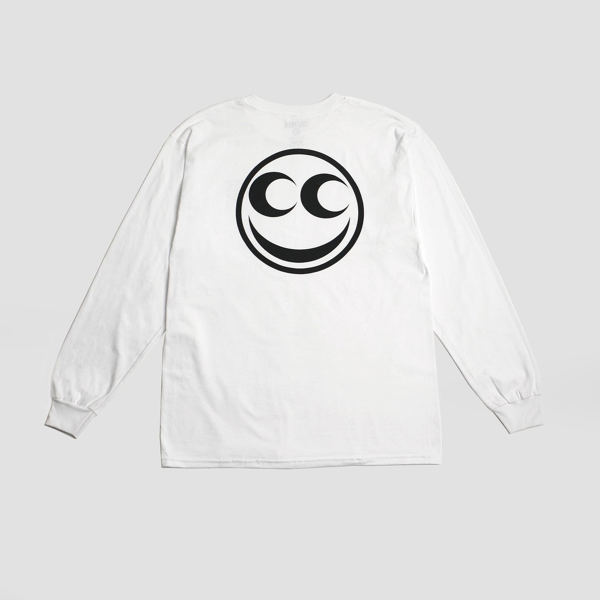 Smiley Long Sleeve - White