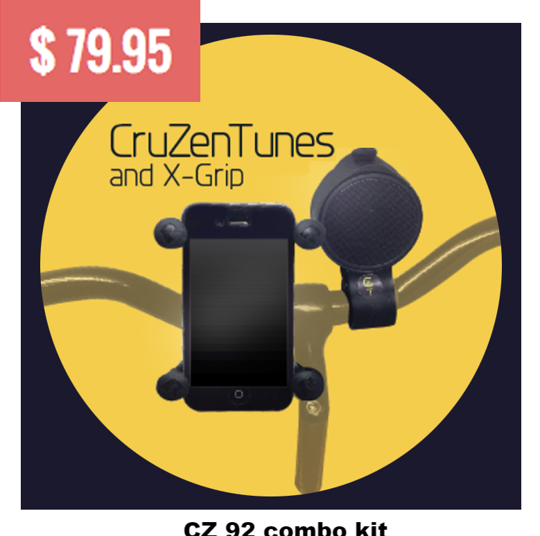 --CruZen Tunes- - CruZen Bicycle Accessories  - 1