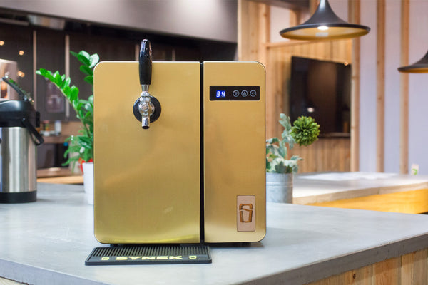 Bronze Craft Beer Dispenser