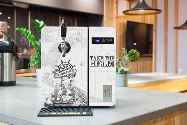 LIMITED: SYNEK Dispenser + Helm's Brewing Custom Skyn