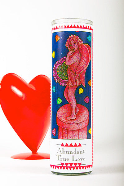 Abundant True Love Candle Gift