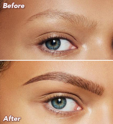 BlendBrows Eyebrow Microblading Pen Before After