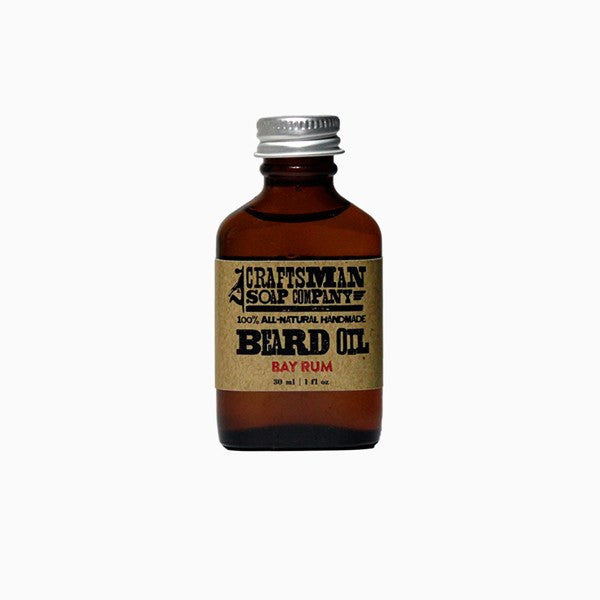 Beard Oil - Bay Rum Beard Oil
