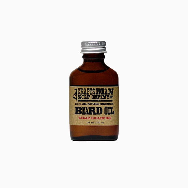 Beard Oil - Cedar Eucalyptus Beard Oil