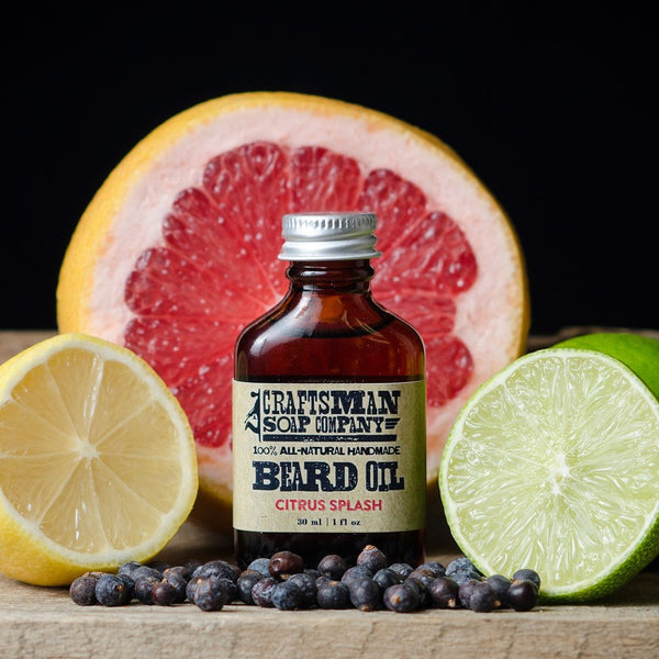 Beard Oil - Citrus Splash Beard Oil