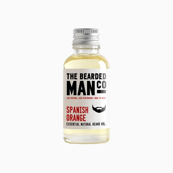 Beard Oil - Spanish Orange Beard Oil