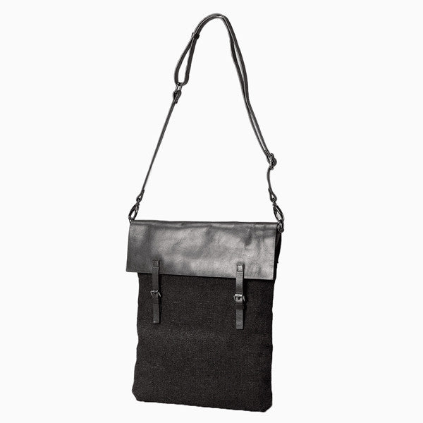 Everyday Bag - Sveg Satchel - Charcoal & Black