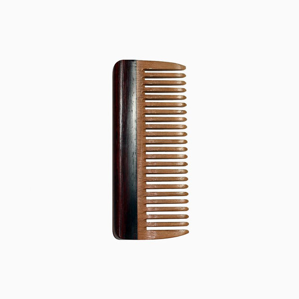 Hair Comb - Hair Comb With Cherry & Cocobolo