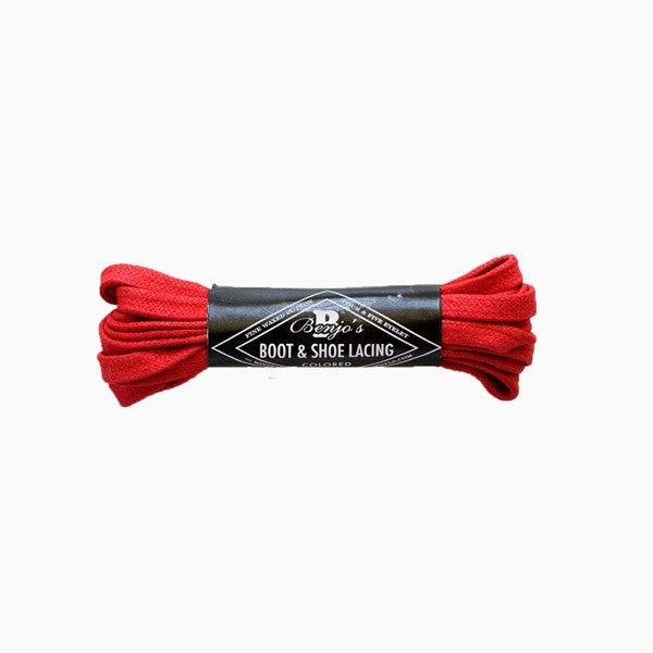 Laces - Rosso Scuderia Dress Boot Laces