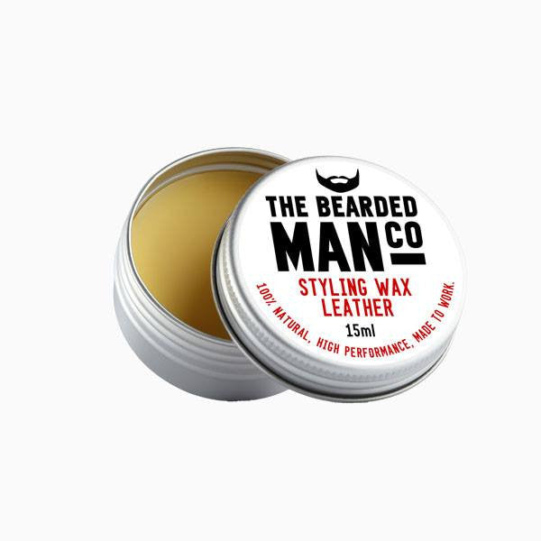 Moustache Wax - Leather Moustache Wax