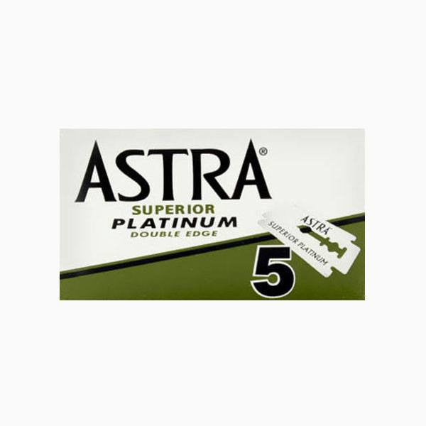 Shaving - Astra Superior Platinum Double Edge Razor Blades