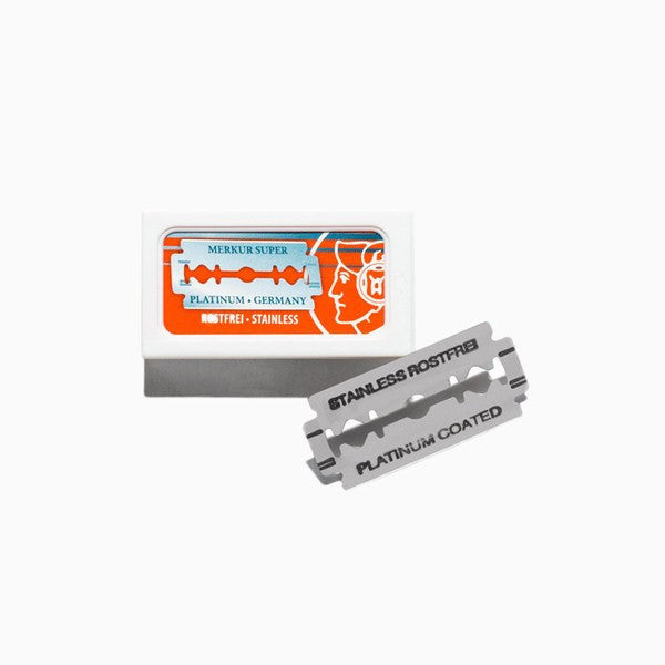 Shaving - Merkur Super Platinum Double Edge Razor Blades