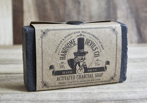 Soaps - Activated Charcoal Soap Bar