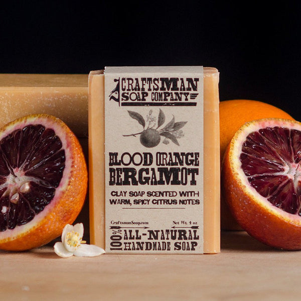 Soaps - Blood Orange, Roseclay And Bergamot Soap