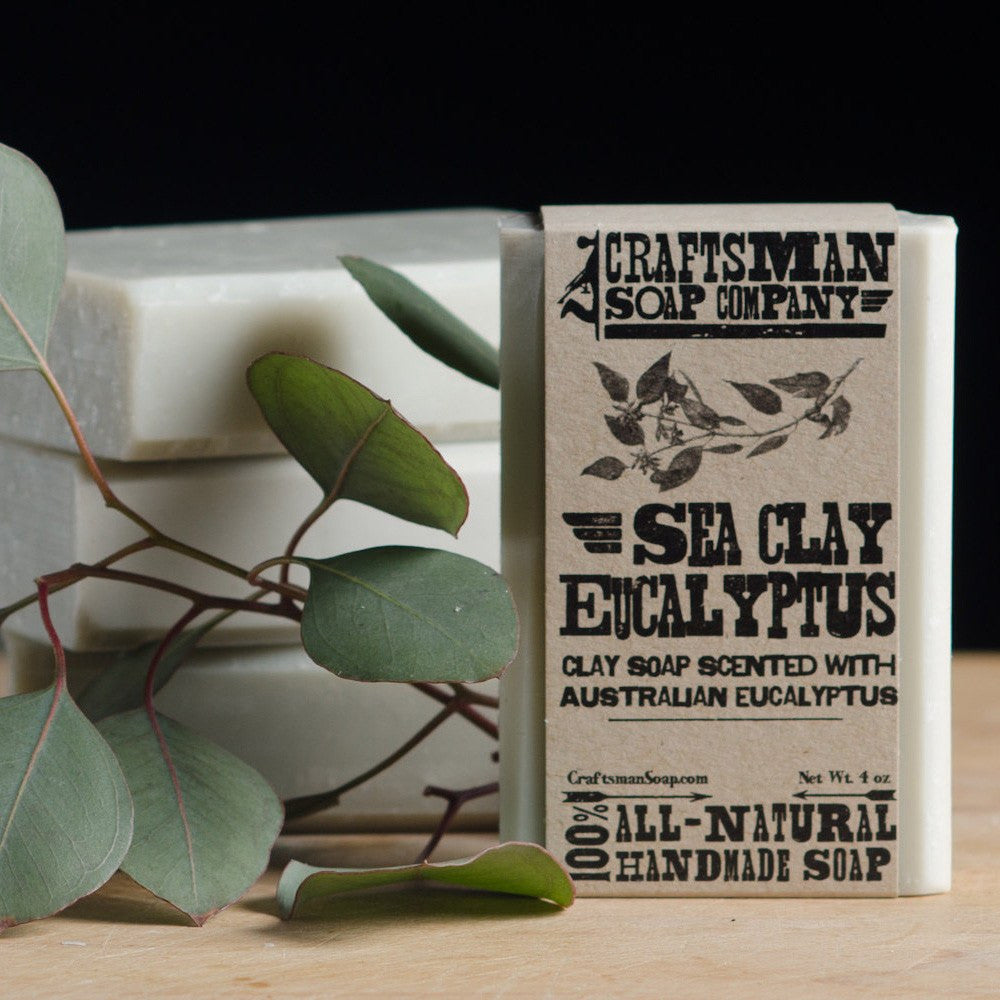 Soaps - Sea Clay Eucalyptus Bar Soap