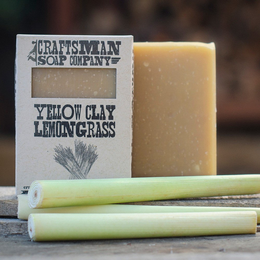 Soaps - Yellow Clay And Lemongrass Soap