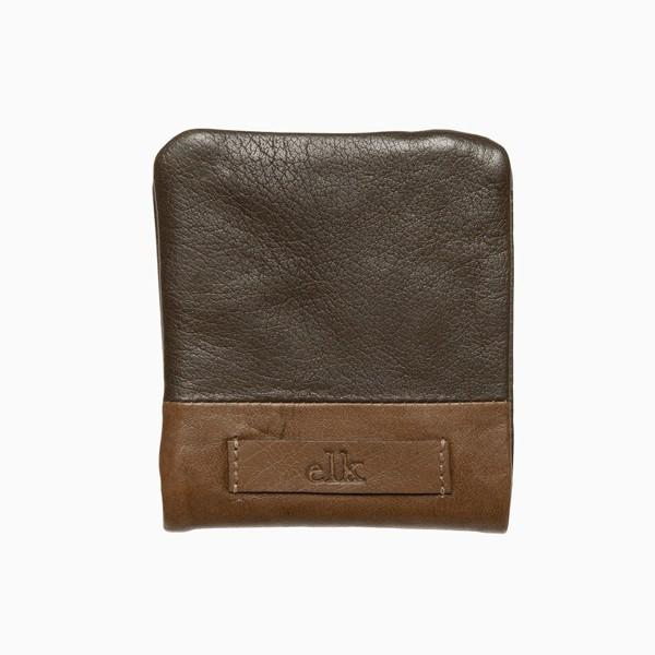 Wallet - Farun Men's Wallet - Grey & Tan Leather