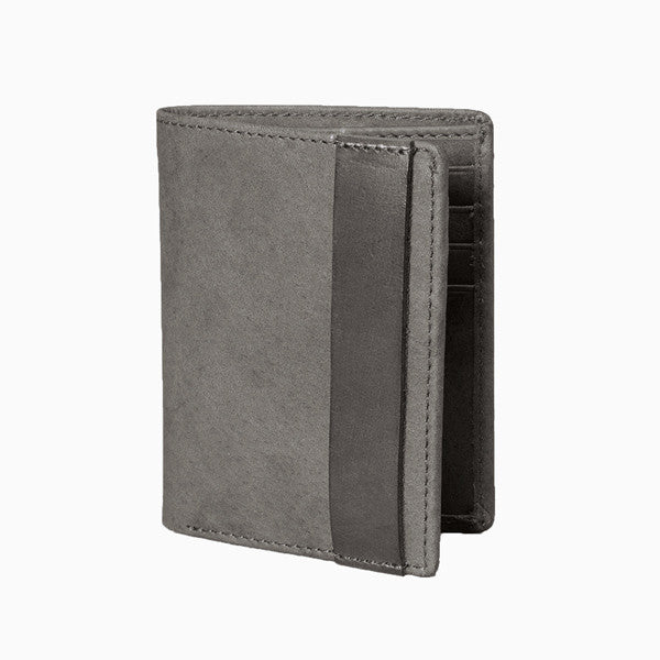 Wallet - Mies Leather Wallet - Charcoal