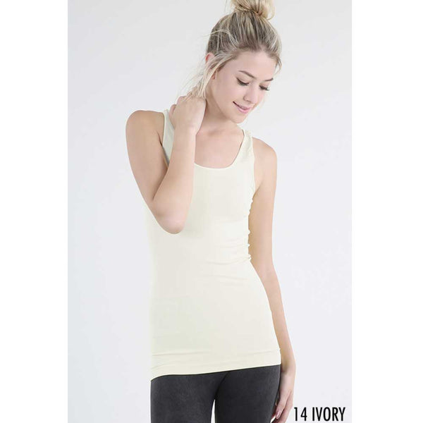 Seamless Camisol with Wide Strap