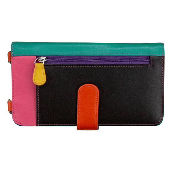 Smart Phone Wallet Black Bright