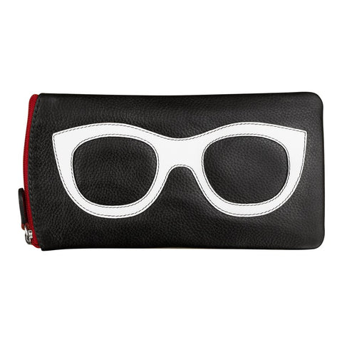 Eye Glass Case red/white/red