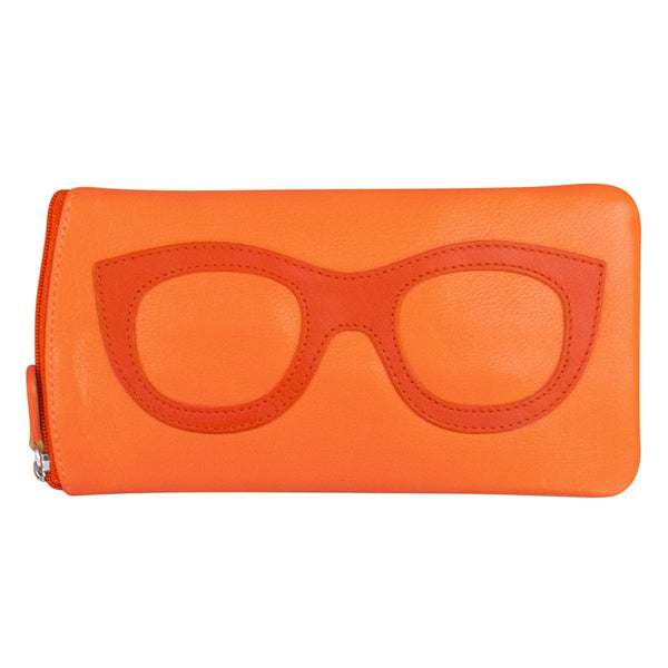 Eye Glass Case Papaya/Orange