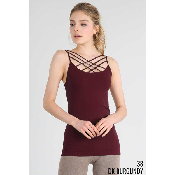 Triple Cross Strap Camisole
