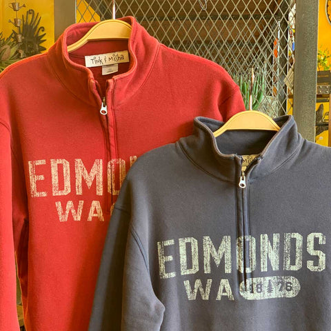 Edmonds 1/4 Zip Sweatshirt