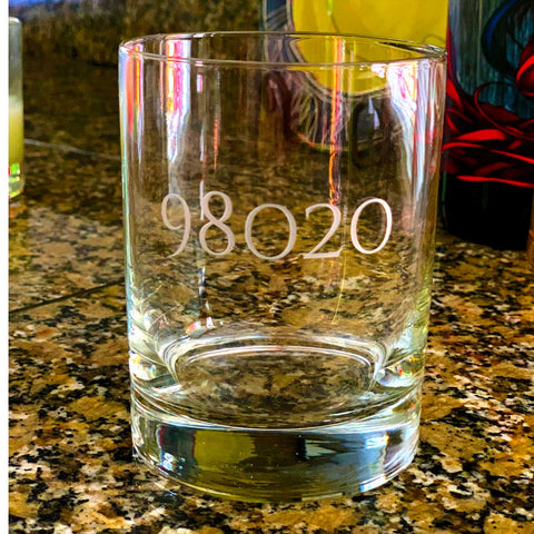 98020 Engraved 14oz Double Old Fashioned Glass