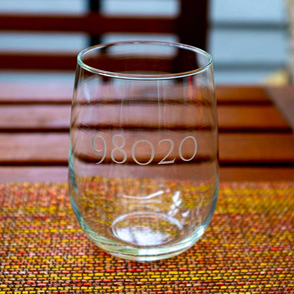 98026 Stemless 17oz Wineglass