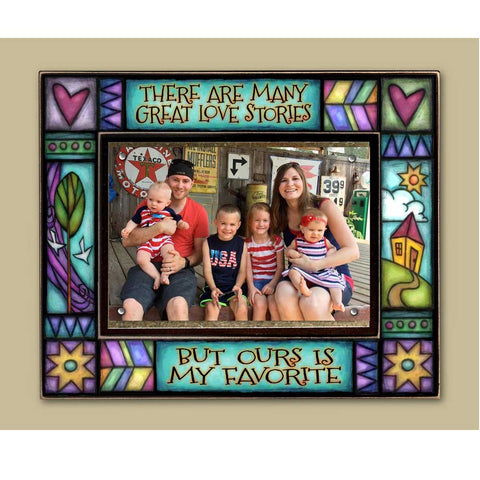 Many Great Love Stories Picture Frame