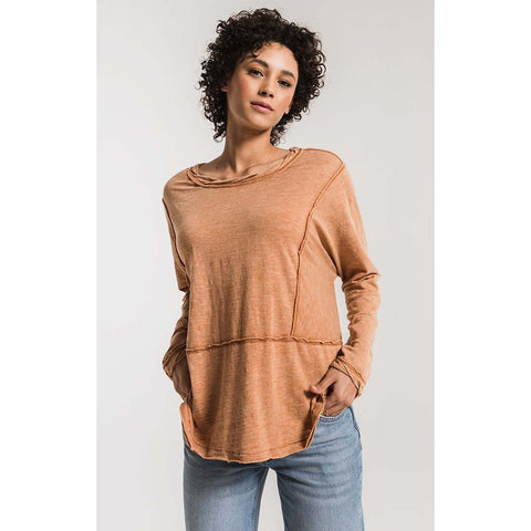 Airy Slub Long Sleeve