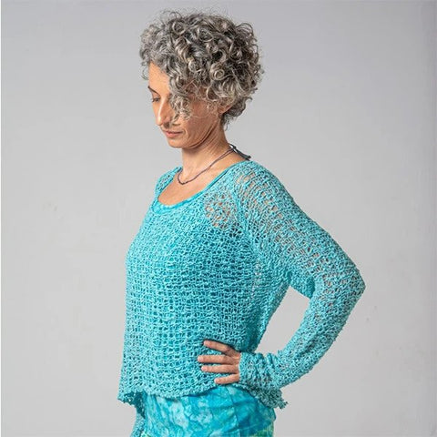 LONG SLEEVE CROCHETED SOUL WARMER