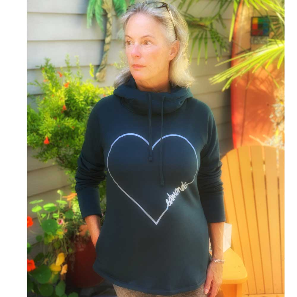 Heart Edmonds Tunnel Neck Sweatshirt
