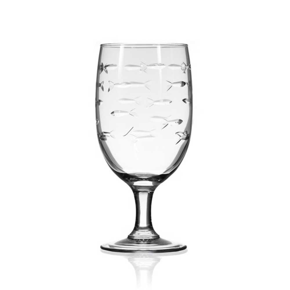 School of Fish 16oz Iced Tea Glass