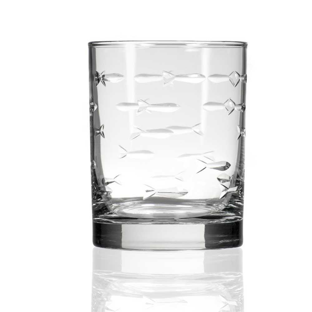 School of Fish Double Old Fashioned Tumbler