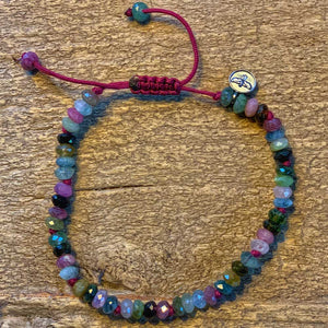 Multicolored Tourmaline Bracelet