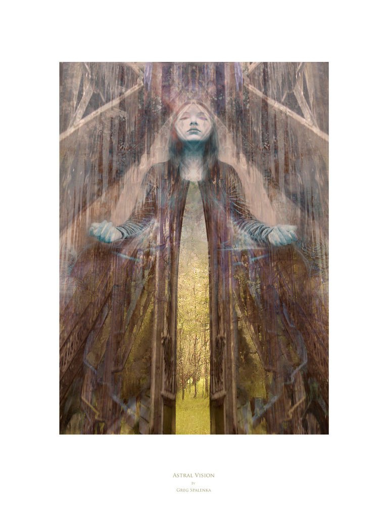 Astral Vision, Museum Quality Print, Essence: Warm Summer/Warm Winter