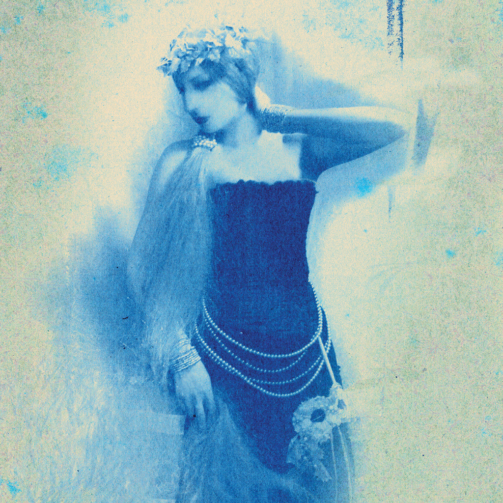 Blue Queen, Museum Quality Print, Essence: Winter