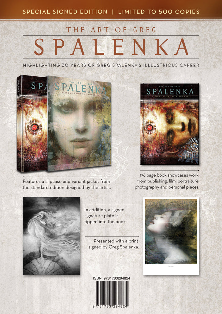 The Art of Greg Spalenka Deluxe Limited Edition with Personalized Drawing