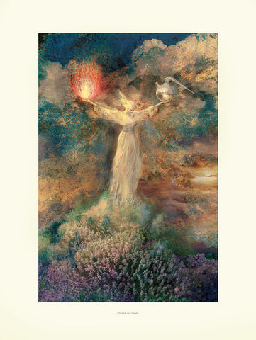 NEW! Divine Alchemy, Museum Quality Print, Essence: Warm Summer/Winter
