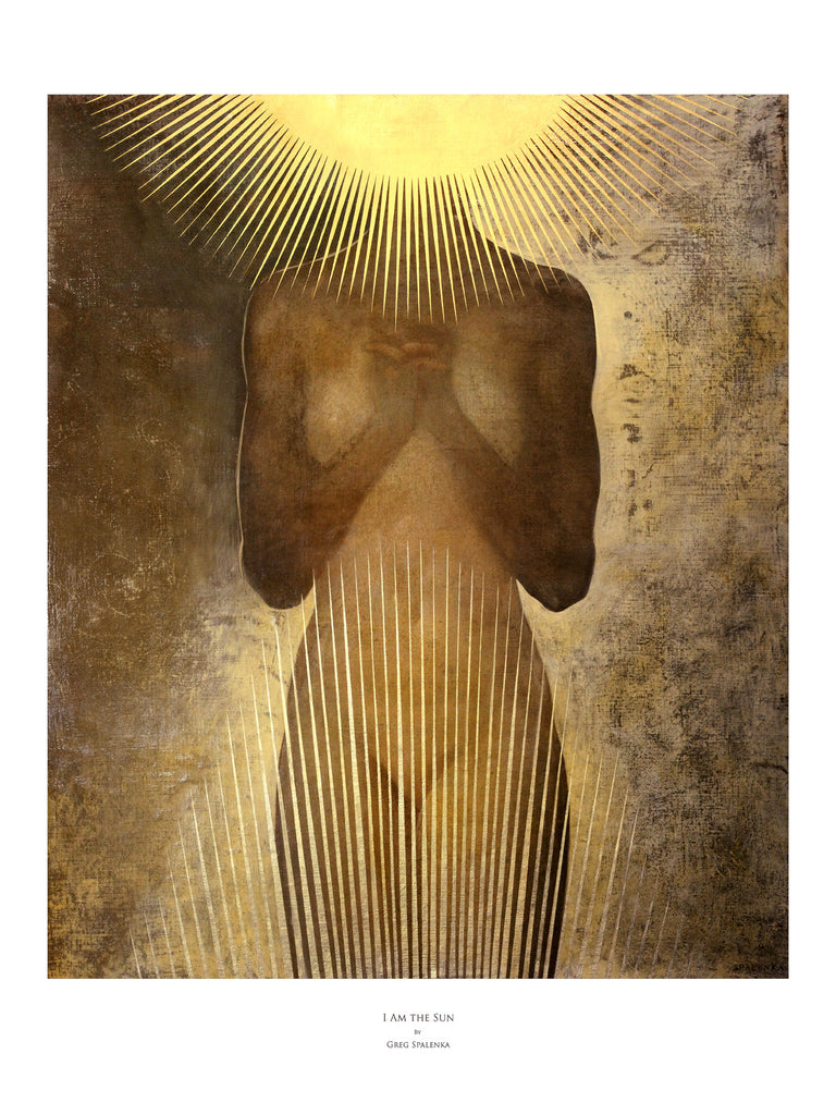 I Am the Sun, Museum Quality Print FOR AUTUMN EQUINOX ONE WEEK ONLY