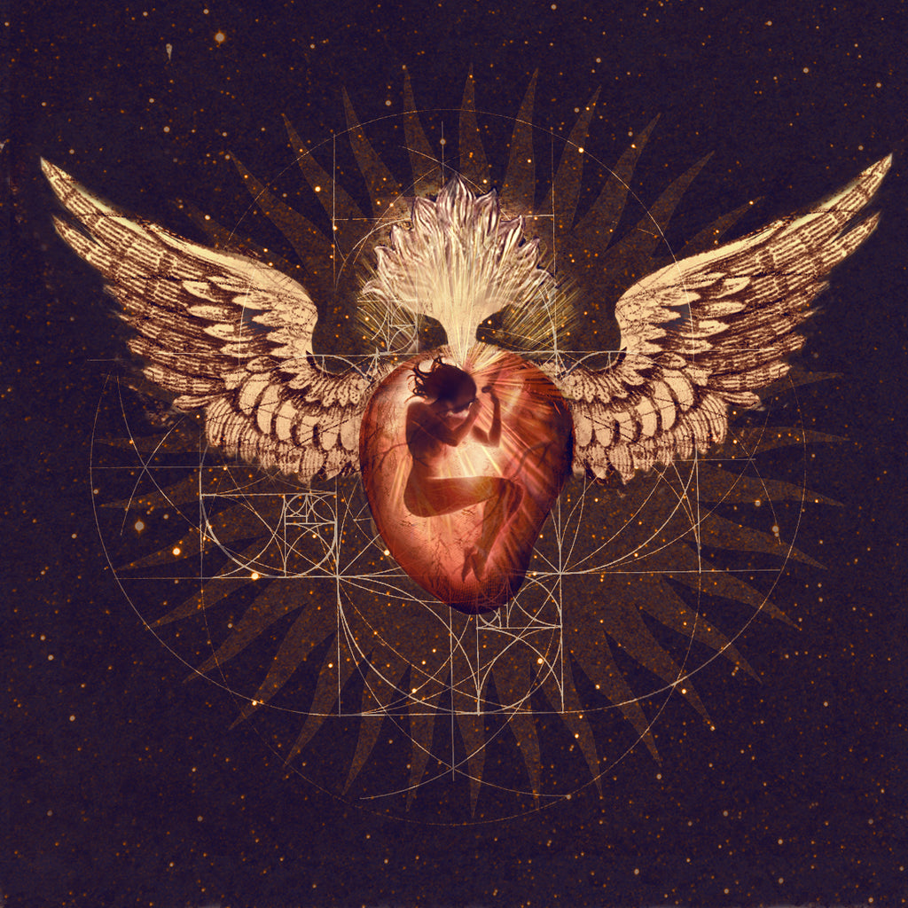 Memory of a Cosmic Heart Limited Edition Vinyl LP with Signed Enhanced Print- Divine Feminine