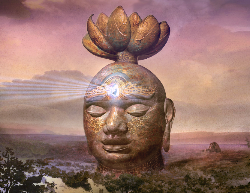 Buddha Nature large archival print