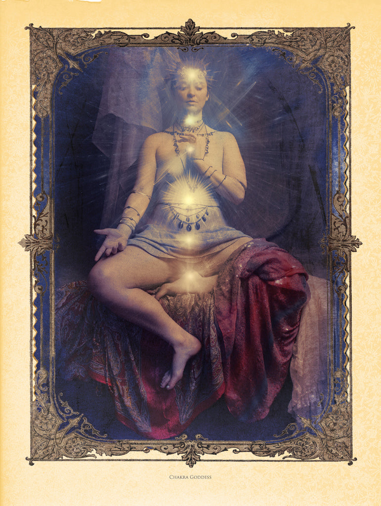 Chakra Goddess, Museum Quality Print, Essence: Summer/Winter